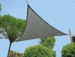 Τρίγωνο Πανί Σκίασης Γκρι Απόχρωση