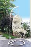 Κουνιστή καρέκλα άσπρη