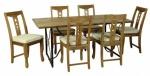 Τραπεζαρία με 1 τραπέζι και 6 καρέκλες