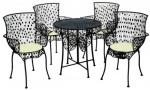 Τραπεζαρία με 1 τραπέζι και 4 Πολυθρόνες