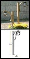 Φωτιστικό Δαπέδου Μπάλα Lux