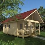 Ξύλινο Σπίτι Αθηνά