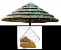 Καπέλο απο Αφρικάνικο καλάμι THATCH