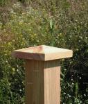 Καπελάκι πυραμίδα ξύλινο
