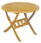 Τραπέζι στρογγυλό πτυσσόμενο
