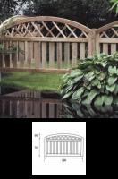 Φράχτης Μπάκιγχαμ Αψίδα Lux